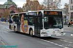mercedes-benz-o530-citaro/530755/wagen-81-traegt-werbung-fuer-ein Wagen 81 trägt Werbung für ein Backhaus.