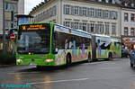 mercedes-benz-o530-citaro-facelift-g/530780/wagen-327-mit-seiner-auffaelligen-werbung Wagen 327 mit seiner auffälligen Werbung am Platz der Deutschen Einheit.